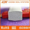 Square EPDM foam rubber high temperature resistant silicone rubber/high temperature silicone rubber