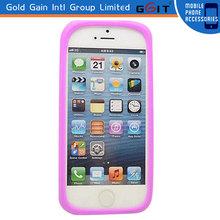 Wholesale Silicon Bracelet Design Lighting Bumper Case For iPhone 5S