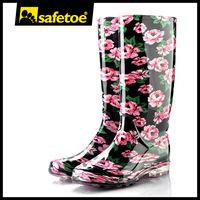 Women plastic rain boots W-6040C