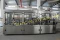 Automática de lavado de botellas de llenado y taponado de la máquina, agua potable de la fábrica, evian agua mineral línea de llenado