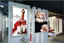 2014 new product p6 led bar graph display xxx photo high brightness slimline shop light box