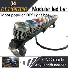 10w single row led light bar atv led light bar 4wd led working light bar