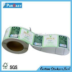2014 promotional product die cut vinyl printing stickers