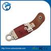 2014 bulk cheap Popular Leather USb flash disk, leather usb flash drives, cheapest usb memory drive disk