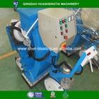 Portable moving floor shot blasting machine for concrete / asphalt /steel surface cleaning