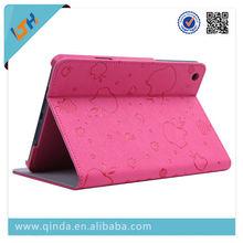 kickstand slim case for ipad mini ultr thin leather case for ipad mini