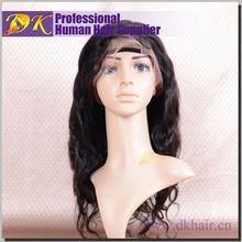 Wholesale DK hair 100% brazilian human hair,peruvian virgin hair full lace wigs