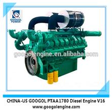 4 Stroke 800kW 1000KVA V16 Cylinder Diesel Engine