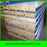 Heat insulation sandwich panel 50mm thick roof insulation