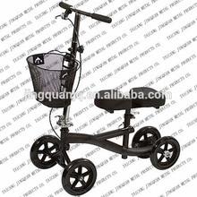 Steerable Knee Walker walker / knee scooter with Basket