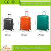 alibaba china supplier high quality ABS high quality trolley travel bags