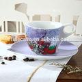 Napoli regalo collezione 100cc russo caffèin porcellana tazza e piattinoinsieme di mosca