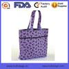 Custom Cotton Trick or Treat Bag Halloween Tote Purple Tote Kitty Tote Bag Girls Tote Bag