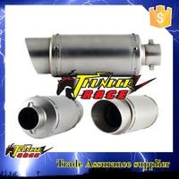 High performance titanium exhaust motorcycle silencer