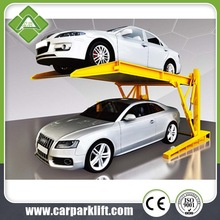 Used Tilting two post car parking system for sale