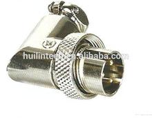 Anti loaded 90 degree 3 poles 16MF bending type plug connectors