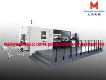 Automatic High Speed Cardboard Corrugated Carton Die Cutting Machine