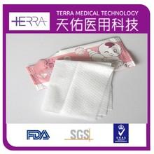 Aroma fresco antibacteriano mão do bebê lenços umedecidos de bolso solteiros, 10 contagem