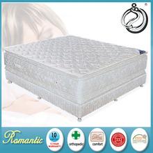 Luxurious high class super soft foam pocket spring mattress