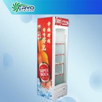 commercial refrigerated vertical bottle cooler