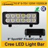 "Led light cree 10.9"" 10200LM 120W led light bar truck light"