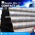 Api 5l espiral de tubos de acero, china fabricante de tubos de acero lista de precios