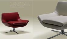 Danish designer Nordic club lounge chair swivel chair bedroom balcony leisure chair KXS002