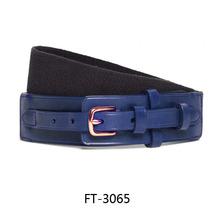 Women/Men's Leather Stretch Belt