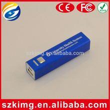 High quality grade power bank mini portable mobile power bank 2600mah power bank charger usb hub