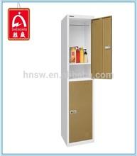 New design steel school/2 door steel locker/white closet alibaba express