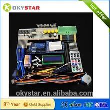 UNO R3 Starter Kit 16x2 LCD Display Servo Motor Dot Matrix Breadboard LED for arduino