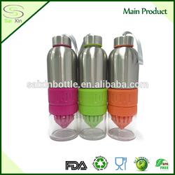 BPA free Glass lemon bottle/juice bottle/water bottle