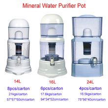 High quality & reasonable price water purifier /water pot with stone inside for home and office