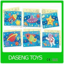 diy sand art sticker card fine art