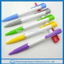 2014 new promotional cheap push unique plastic pen