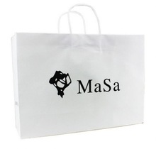 Big discount-paper bags with nylon handle 1409