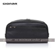 Full grain leather bag / man famous wash bag / factory exported best bag