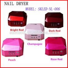 China identification supplier 18w uv nail lamp better led nail uv lamp