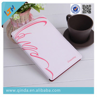 QinD Replacement Fashionable Flower Pattern High Quality Stand Leather Case for iPad Mini