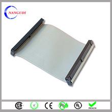 custom ul2651 28awg 64 pin halogen free flat ribbon cable