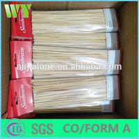 High quality round bamboo sticks for making incense sticks