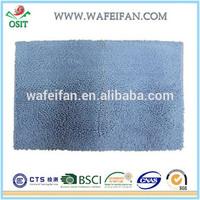 anti slip chenille microfiber machine to make carpet