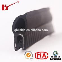 rubber strip door seal/car door rubber strip with ISO/TS16949