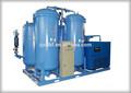 Alta pureza 95% ~99.999% de geração de nitrogênio com sistema de reforço de ar