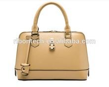 2015 Fashion Genuine Leather zip lock Women's Handbags