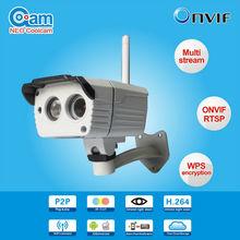push notification IR cut Outdoor waterproof p2p wireless ip security camera