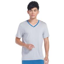 lastest 100% cotton promotional v neck t shirt for sales