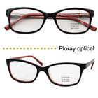 Top Quality New Model Fashion Acetate Optical Eyeglass Frames For Young Lady