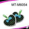 girl 's heart-shaped manicure set