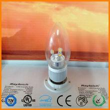 e10 candle light bulbs/4w led lamp/candle led bulb 5w